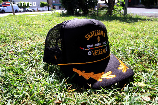 THE SLB SNAP x SKATE VETERAN MESH SNAP « FITTED HAWAII eff6bbb62a4
