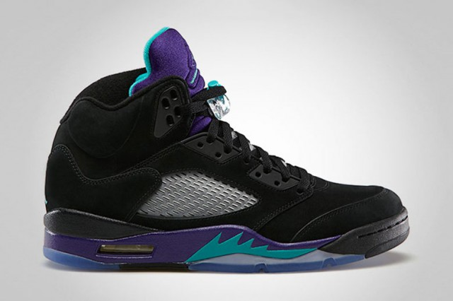 "Jordan V ""Black Grape"""