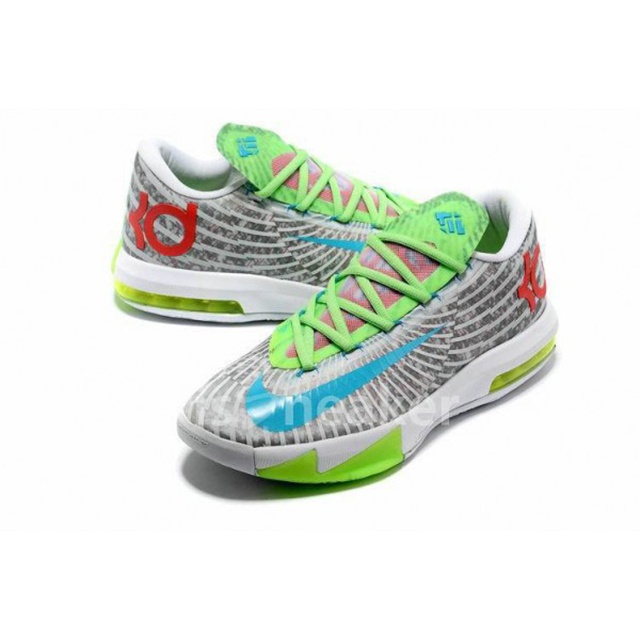 nike-kd-6-green-red-grey-white-2013-cheap