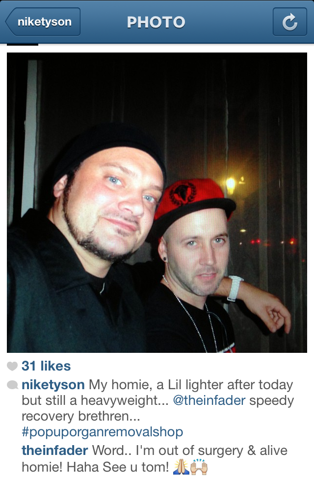 [above: NikeTyson (left) and theInfader (right)]