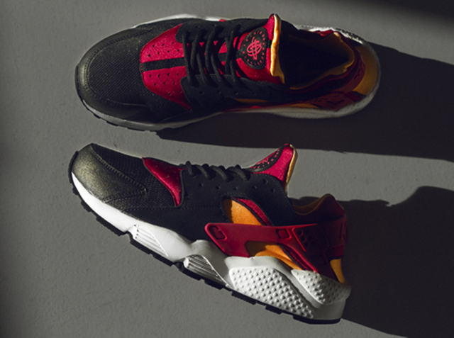 size-nike-air-huarache-laser-orange-black-fuchsia