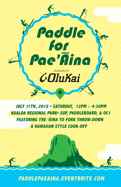 Paddle for Pae Aina