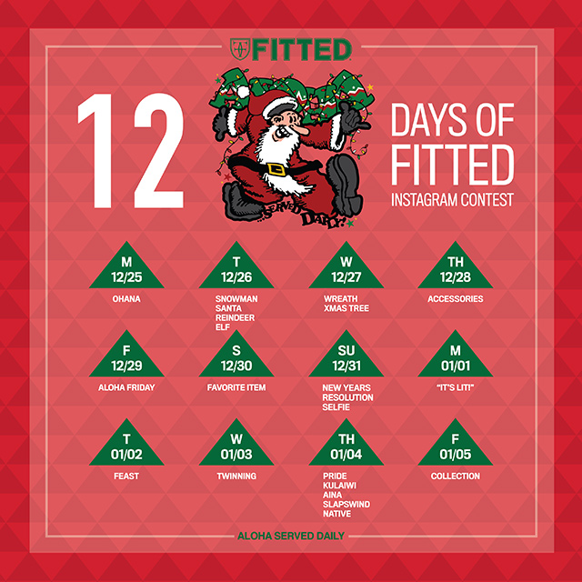 12 Days of FITTED